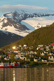 Tromso - northern Norway Royalty Free Stock Images