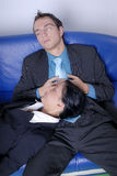 Sleeping Couple Royalty Free Stock Image