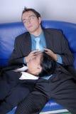 Sleeping Couple Royalty Free Stock Image