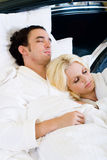Sleeping couple Royalty Free Stock Photography