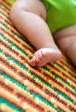 Sleeping or crawling baby Royalty Free Stock Photo