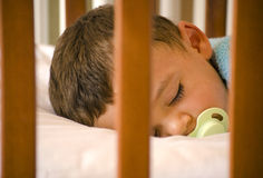Sleeping cute baby Stock Image