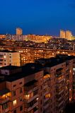 Sleeping district. In evening time Stock Image