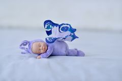 The Sleeping doll Stock Photo
