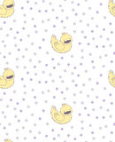 Sleeping duck pattern Royalty Free Stock Image