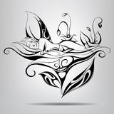 Sleeping fairy. Vector illustration Stock Photo