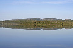 Sleeping Giant. The Sleeping Giant, the panoramic peninsula, that juts out on Lake Superior in Ontario, Canada Royalty Free Stock Photo