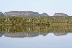 Sleeping Giant. The Sleeping Giant, the panoramic peninsula, that juts out on Lake Superior in Ontario, Canada Royalty Free Stock Images