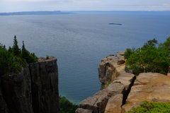 Sleeping Giant Provincial Park. Looking out over Lake Superior from a high point in Sleeping Giant Provincial Park, located near Thunder Bay, Ontario, Canada Stock Photo