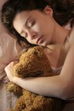 Sleeping girl Royalty Free Stock Image