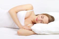 Sleeping Girl Stock Image