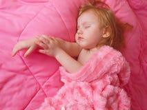 Sleeping girl Stock Photos