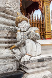 Sleeping guardian of the temple Stock Photos