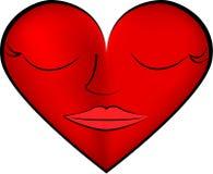 Sleeping heart Royalty Free Stock Photos