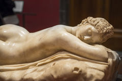 Sleeping Hermaphrodite, Uffizi Gallery, Florence Royalty Free Stock Photos