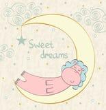 Sleeping hippopotamus Stock Photography