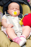 Sleeping Infant stock image