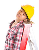 Sleeping On A Job II Royalty Free Stock Photos