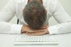 Sleeping on the job Royalty Free Stock Photography
