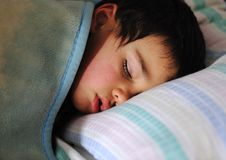 Sleeping kid Stock Photography
