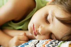 Sleeping kid Royalty Free Stock Photo