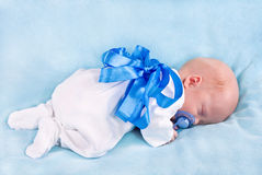 The sleeping kid Royalty Free Stock Photo