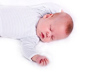 The sleeping kid Royalty Free Stock Photography