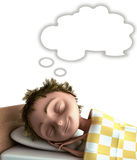 Sleeping kid Royalty Free Stock Photos