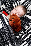Sleeping kid Stock Image