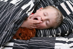 Sleeping kid Stock Image