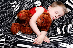 Sleeping kid Royalty Free Stock Image