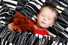 Sleeping kid Stock Photo