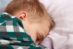 Sleeping kid royalty free stock photo