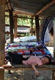 Sleeping Laotian Child Stock Image