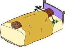 Sleeping Like a Log Stock Image