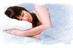 Sleeping like a princess Royalty Free Stock Photography
