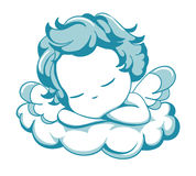 Sleeping litle Angel Royalty Free Stock Images