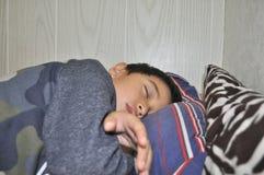 Sleeping little boy Stock Photo