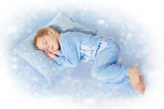 Sleeping little child Royalty Free Stock Images