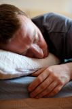 Sleeping man Royalty Free Stock Photography