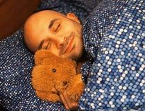 Sleeping man Royalty Free Stock Images