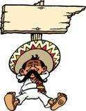 Sleeping Mexican vector illustration