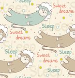 Sleeping monkey Stock Photo