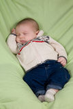 Sleeping Newborn Stock Photos