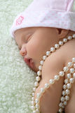 Sleeping Newborn Royalty Free Stock Images