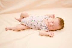 Sleeping newborn Royalty Free Stock Photography