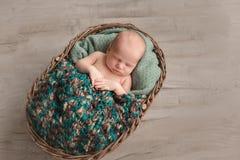 Free Sleeping Newborn Baby Stock Image - 109821481