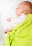 Sleeping Newborn Baby Stock Photos
