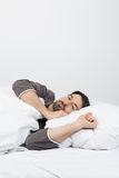 Sleeping in the night royalty free stock photography