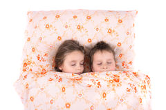 Sleeping pair Royalty Free Stock Photos